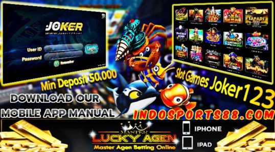 Bandar Judi Slot Game Joker123